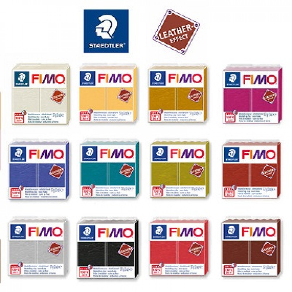 Staedtler Fimo Leather Polymer Modelling Clay