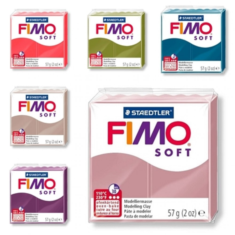 Staedtler Fimo Soft Natural Polymer Modelling Clay