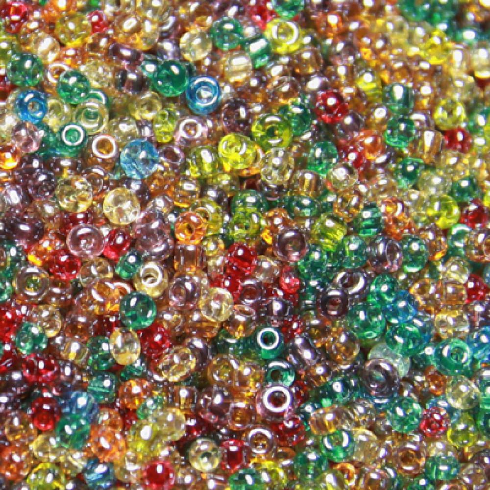 Margele de nisip cristal-sidefate 2mm
