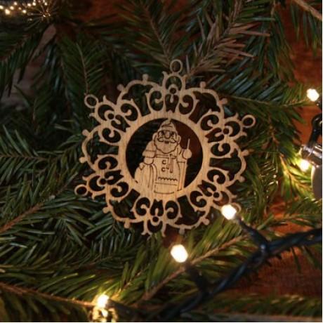 Ornament de Craciun - fulg de nea