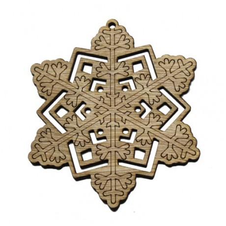 Ornament de Craciun - stea