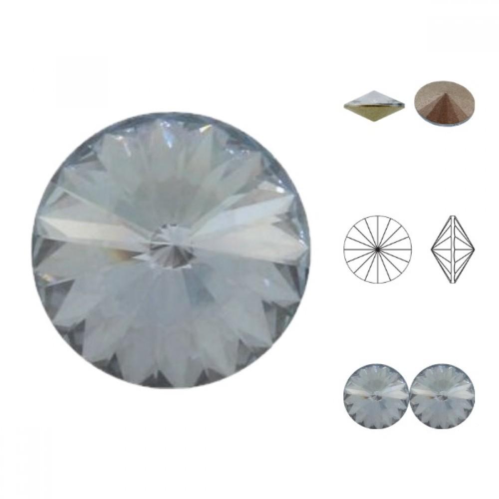 Swarovski Rivoli - Crystal Blue Shade