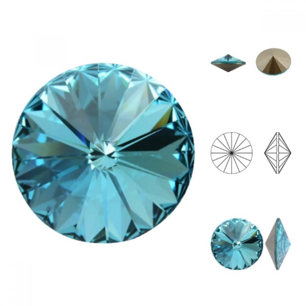 Swarovski Rivoli - Light Turquoise