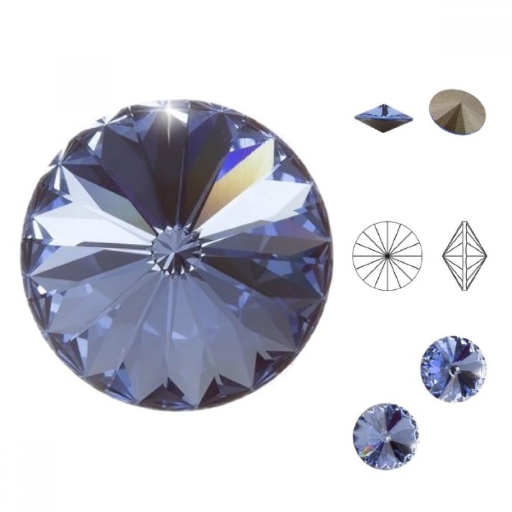 Swarovski Rivoli - Light Sapphire