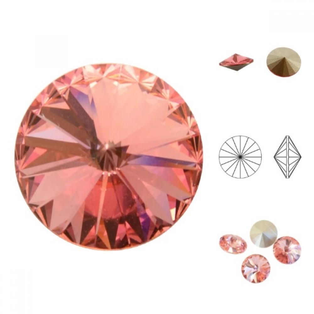 Swarovski Rivoli - Rose Peach