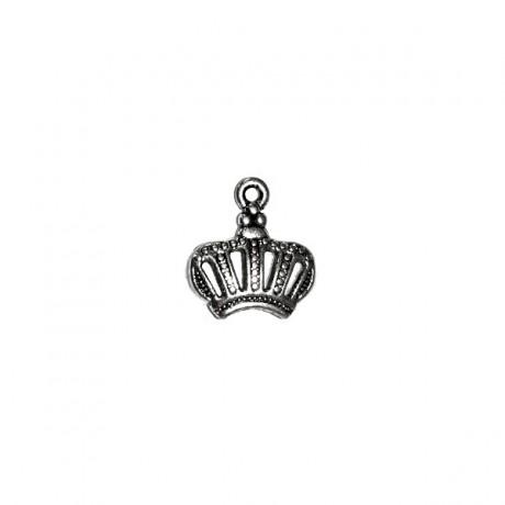 Pandantiv metalic - coroana