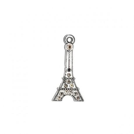 Pandantiv metalic - turnul Eiffel