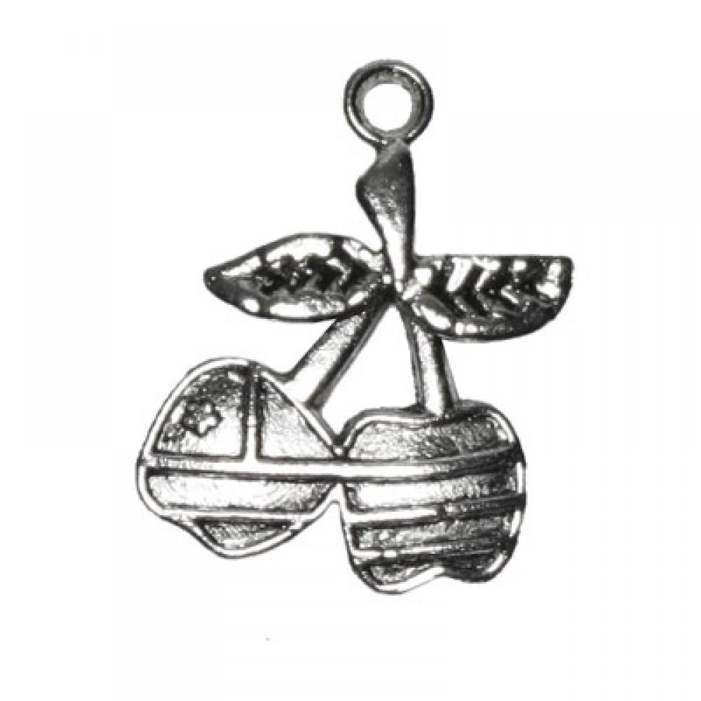 Pandantiv metalic - cirese
